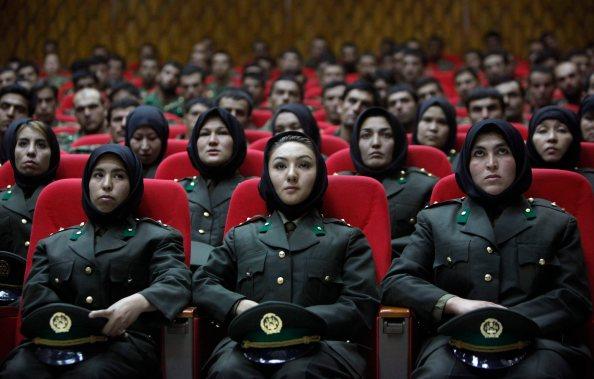 APTOPIX Afghanistan National Army