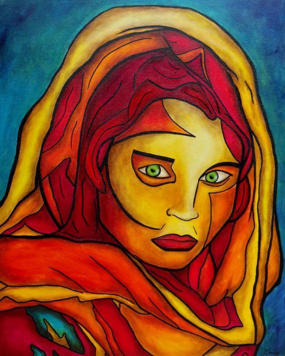 afghan-girl-darlene-keeffe