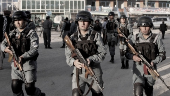 afghan-police-in-kabul-moping-up-taliban-attack-6-10-2013