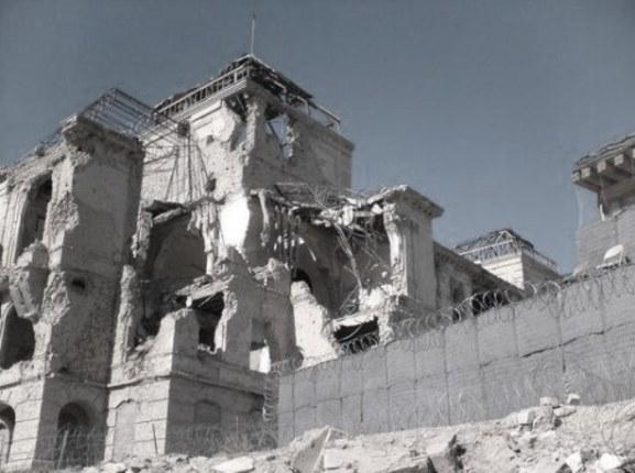 kabul ruins