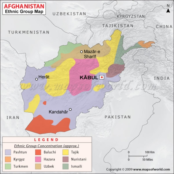 afghanistan-ethnic-map
