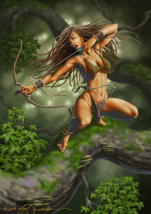 jungle_girl_by_nigelhendrickson-d67158k