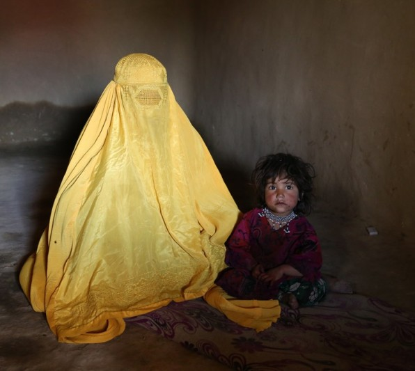 Yellow Burqa