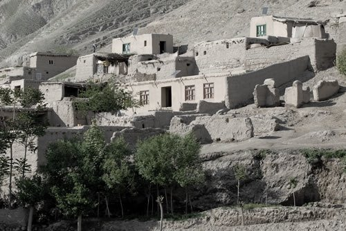 afghan village homes