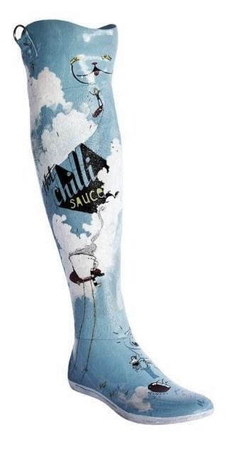 Capt'n Fiddler's Prosthetic Leg