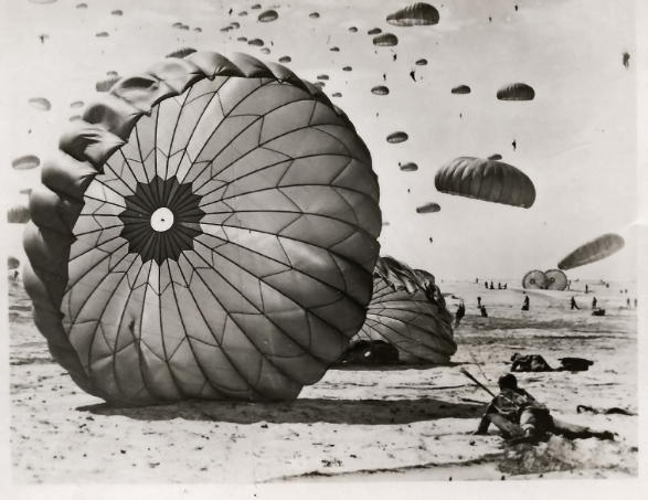 Ft Benning Paratrooper Training 1951