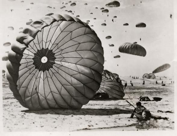 Ft Benning Paratrooper Training 1951