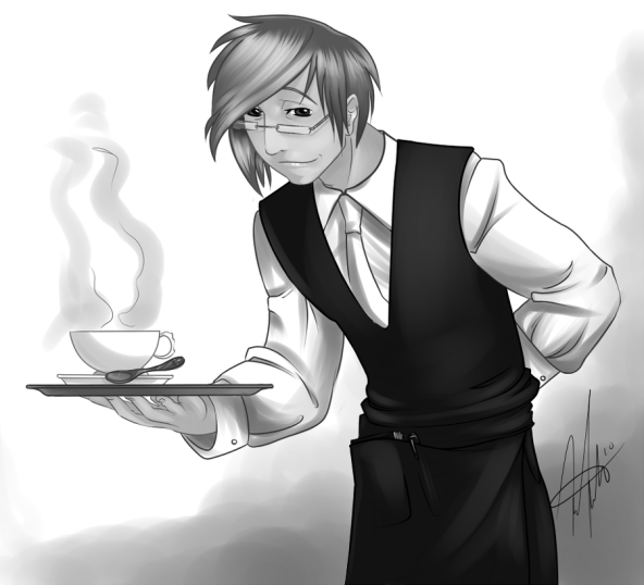 sexy_waiter_iram_by_loveorbekilled_faded
